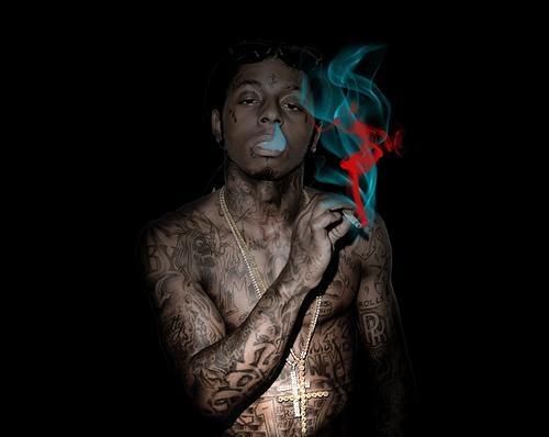 Lil Wayne Smoking Colorful Weed braston's S...