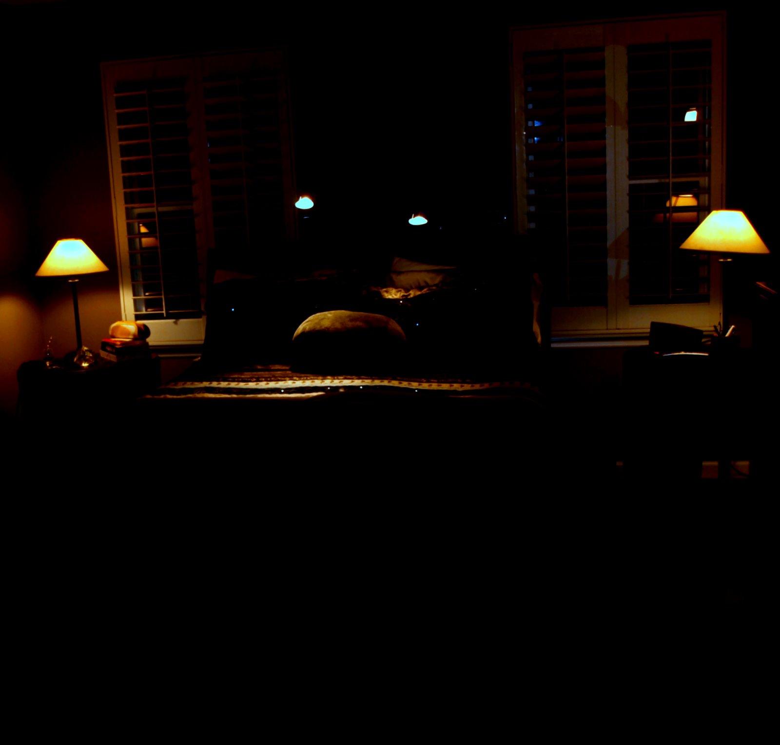 Stock detail dark bedroom official psds for Bedroom night