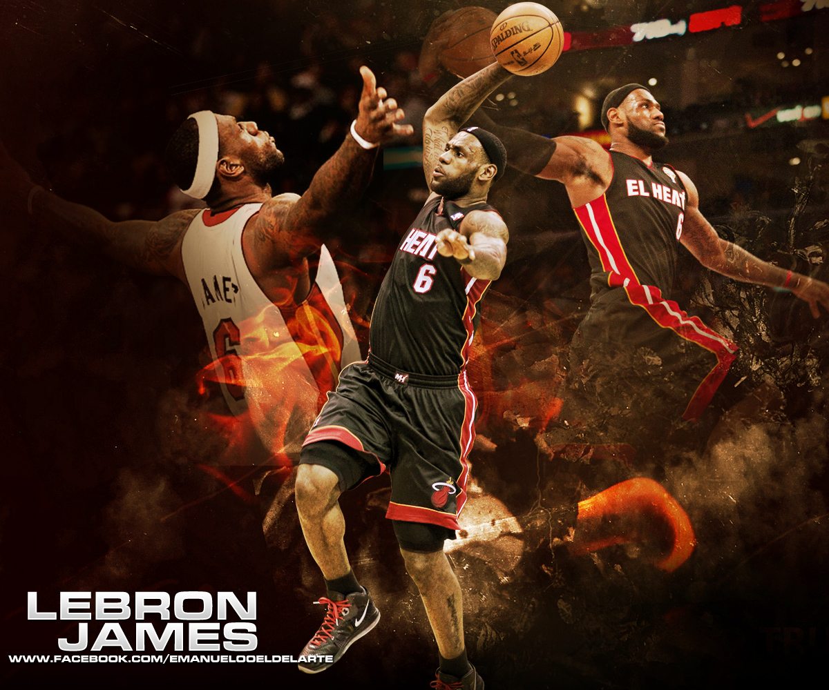 Lebron James 3 Poster Wallpaper Wallpaper  Auto Design Tech