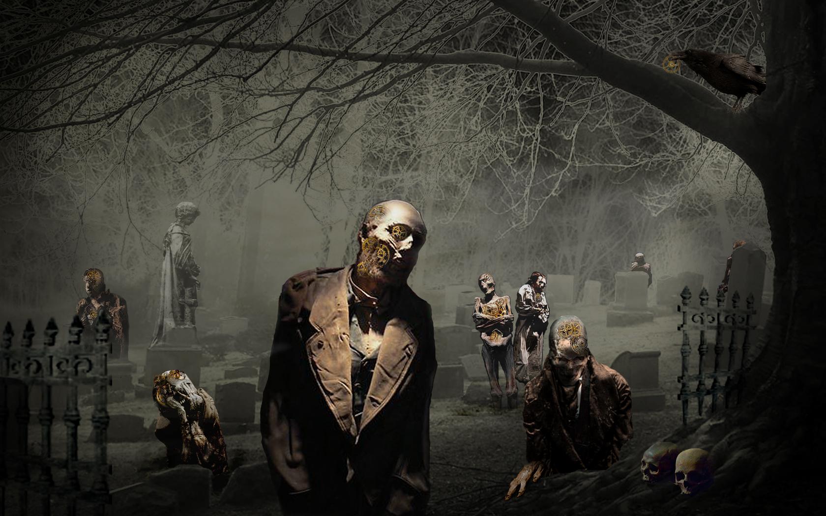 Scary Halloween Zombies