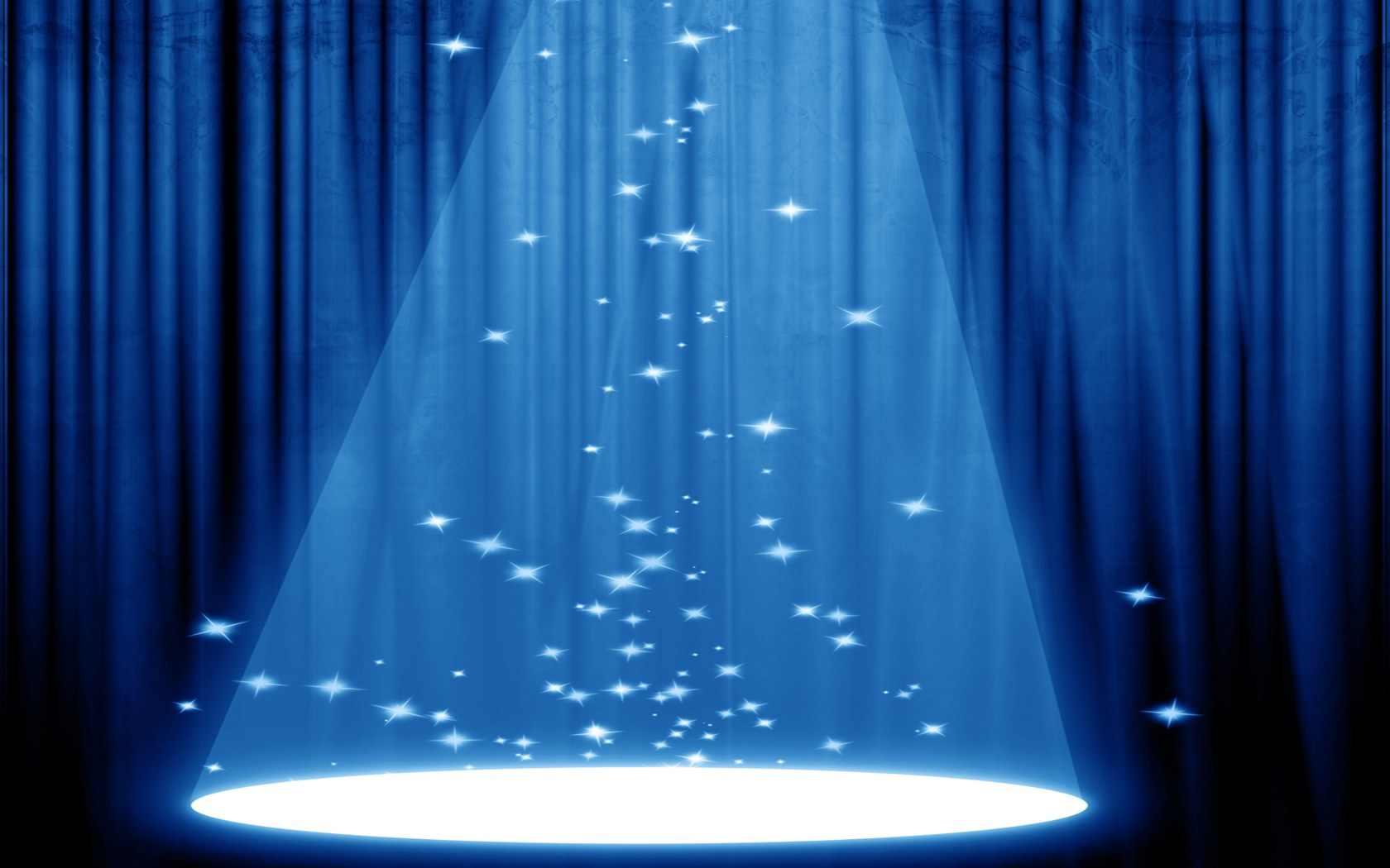 Stage curtains spotlight - Stage Curtains Spotlight 45