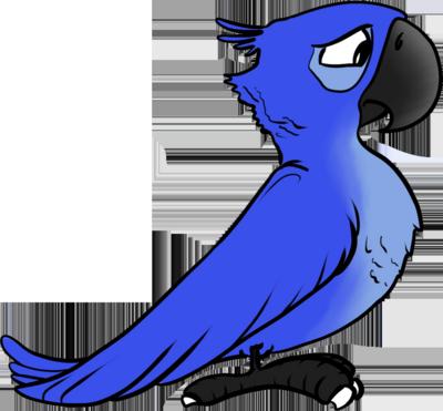 Злые птицы Рио PSD.