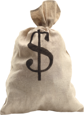 Psd detail bag money 01 official psds for Transparent piggy bank money box