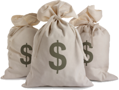images of bags of money