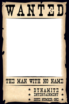 Blank Wanted Sign Template
