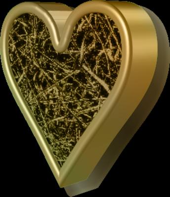 Bronze Heart) ! | PSD Detail