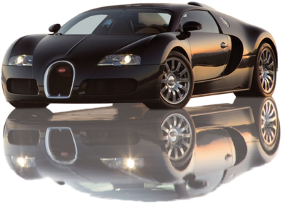 Bugatti on Psd Detail   2009 Bugatti Veyron With Reflection   Official Psds
