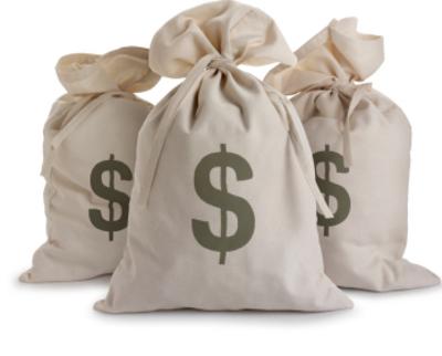 Cash Bag Png Cash Money in Bags Sealed Psd