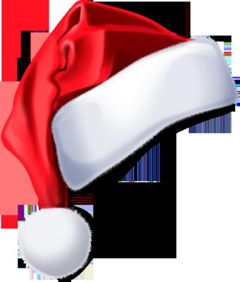 Santa Hats likewise Santa Hat Transparent Tumblr 91 transparent santa ...