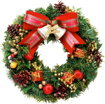 Psd Detail Christmas Wreath High Res Official Psds