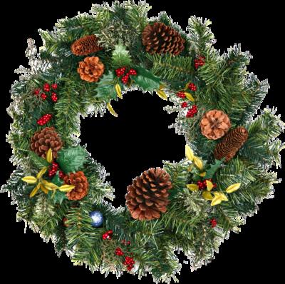 PSD Detail | Christmas Wreath | Official PSDs