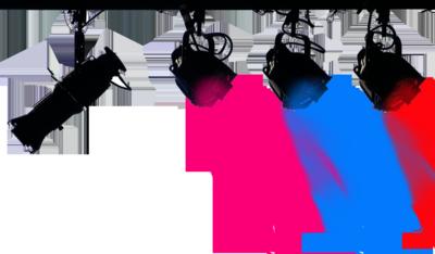 PSD Detail | 4 Color club Lights Psd | Official PSDs