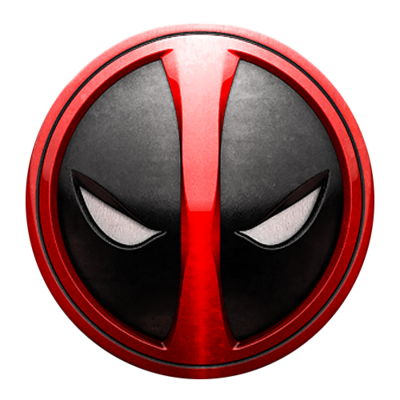 psd detail deadpool logo official psds free vector cloud free vector clock