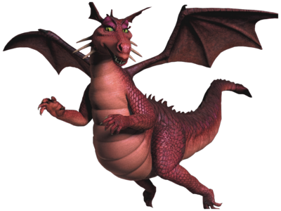 Dragon Shrek Psd32201png