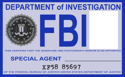 Crafty image intended for printable fbi badge
