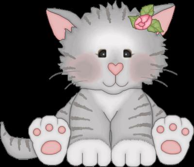 Fluffy Cat Cartoon Auto Design Tech