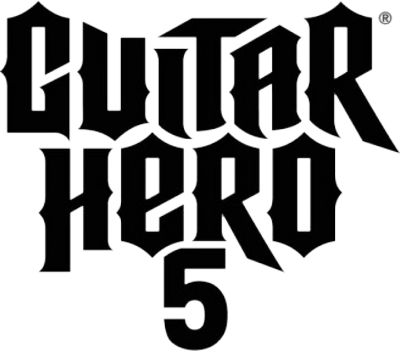 psd detail | guitar hero 5 logo | official psds