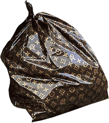 related images. Louis Vuitton Trash Bag ...