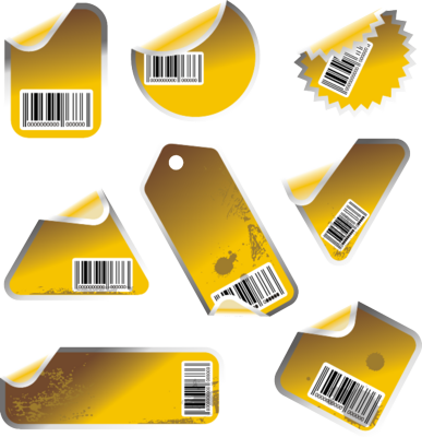 blank barcode labels. arcode label sticker.