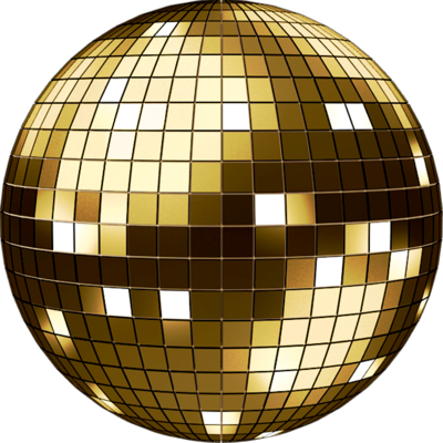 PSD Detail | Gold Discoball | Official PSDs