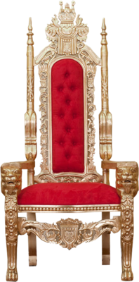 Gold queen throne chairs - King Throne Chair Png Galleryhip Com The Hippest