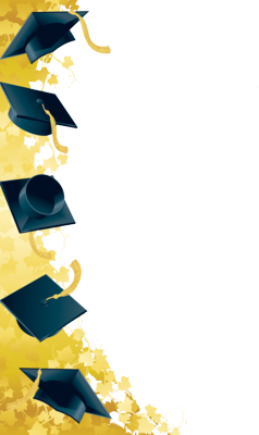 Graduation Border | PSD Detail