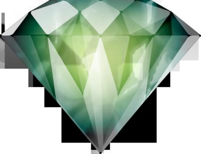 PSD Detail | Green Diamond | Official PSDs