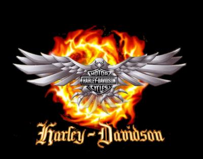 Harley davidson logo PNG.
