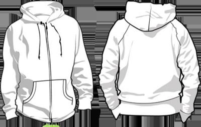 PSD Detail | Hoody template | Official PSDs