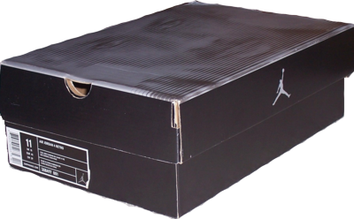 Shoe Box, 800g Grey Board Paper Material, Customized Sizes are Welcome