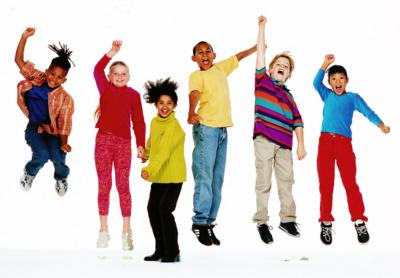 PSD Detail   Kids Jumping   Official PSDs