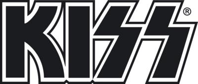 PSD Detail | Kiss Logo | Official PSDs