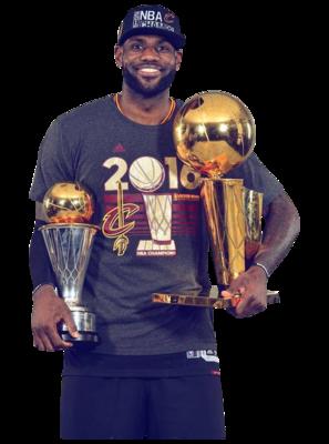 PSD Detail | LeBron James (Finals MVP) | Official PSDs