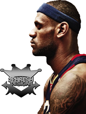 lebron james. Lebron James Cover Shoot PSD