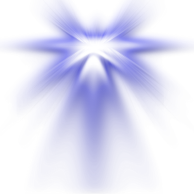 PSD Detail | Lens Flare Blue Light Shine | Official PSDs