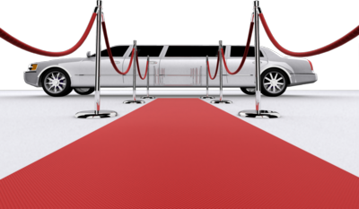 Limo With Red Carpet L Psd