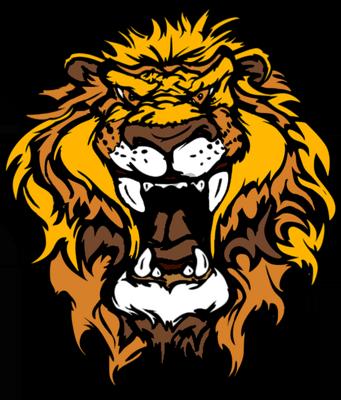 Lion cartoon head - photo#7