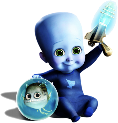 PSD Detail  Megamind Baby  Official PSDs