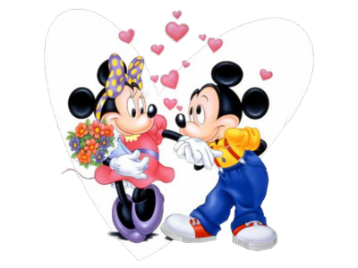 Mickey and minnie mouse dating