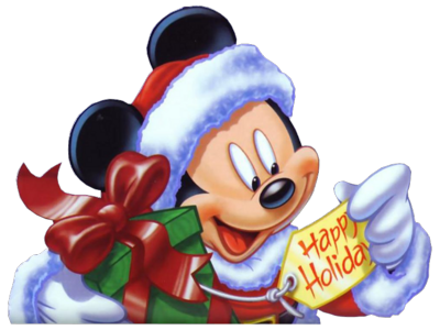 PSD Detail | Mickey Mouse Christmas | Official PSDs