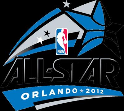 PSD Detail | NBA Allstar 2012 Logo | Official PSDs