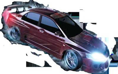 NFS углерода автомобиль PSD.