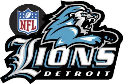 new detroit lions logo psd