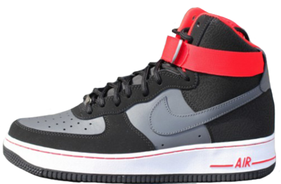 Nike Air Force 1 Black Red