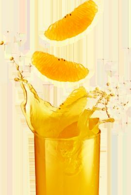 count orange juice