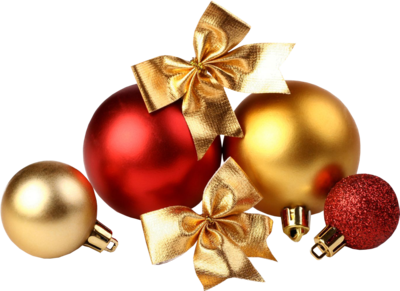 PSD Detail   Red & Gold Ornaments   Official PSDs