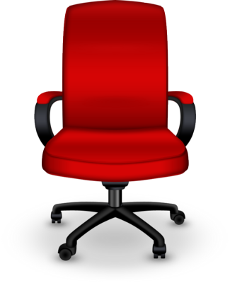PSD Detail | Red office chair | Official PSDs