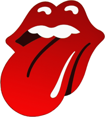 psd detail | rolling stones lips logo | official psds