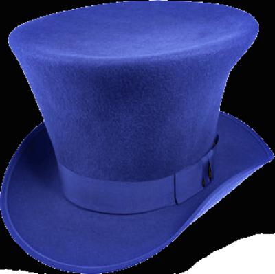 للعقل ( ألوان ) .. فما لون عقلك .. !؟ Royal-Blue-Top-hat-p