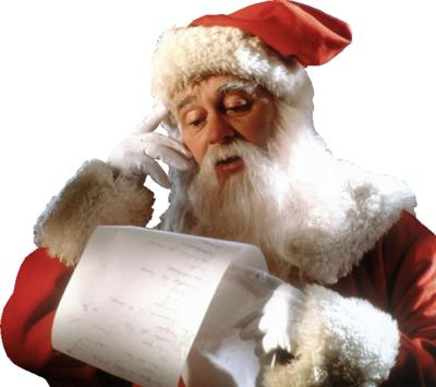 Santa Claus List Psd detail santa claus with list official psds